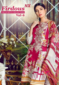 Shree Fabs Firdous Vol 6 Nx Salwar Suits