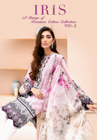 Shree Fabs Iris Vol 2 Jam Cotton Salwar Suits