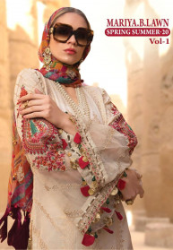 Shree Fabs Mariya B Spring Summer 20 Vol 1 Salwar Suits