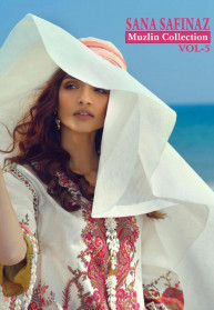 Shree Fabs Sana Safinaz Muzlin Vol 5 Salwar Suits