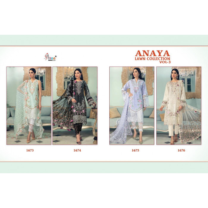 Shree Fabs Anaya Lawn Collection Vol3 Salwar Suits