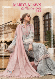 Shree Fabs Maria B Lawn Collection 2021 Vol2 Suits