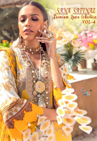 Shree Fabs Sana Safinaz Premium Lawn Vol 4 Suits