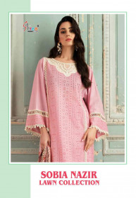 Shree Fabs Sobia Nazir Lawn Collection Salwar Suits
