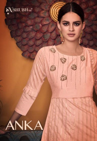 Shubh Nx  Anka Viscose New Kurtis Catalog