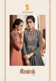 Stylemax Almirah Vol 1 Soft Silk Tapeta Gowns