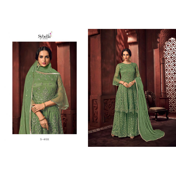 Sybella Royalism Heavy Net Gowns New Collection