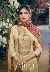 Tanishk Alifa Pure Jam Heavy Dress Materials
