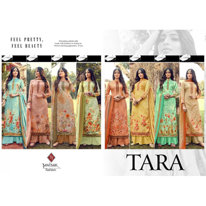 Tanishk Fashion Tara Jam Silk Salwar Suits