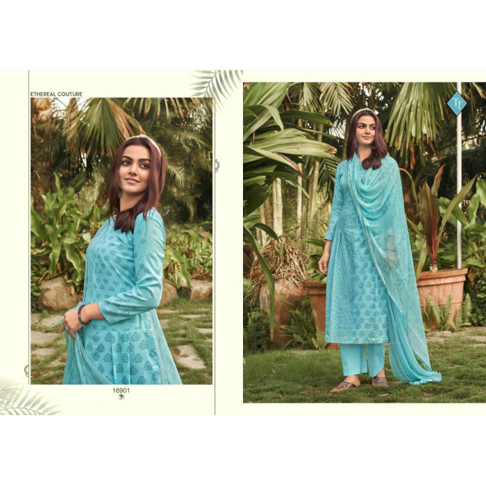 Tanishk Sanah Pure Lawn Cambric Dress Materials