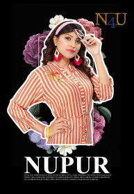 Tunic House Nupur Rayon With Embroidery Kurtis