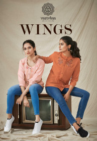 Vastrikaa Wings Blended Short Tops Collection