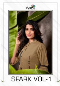 Vardan Spark Vol 1 South Cotton Kurtis With Pant