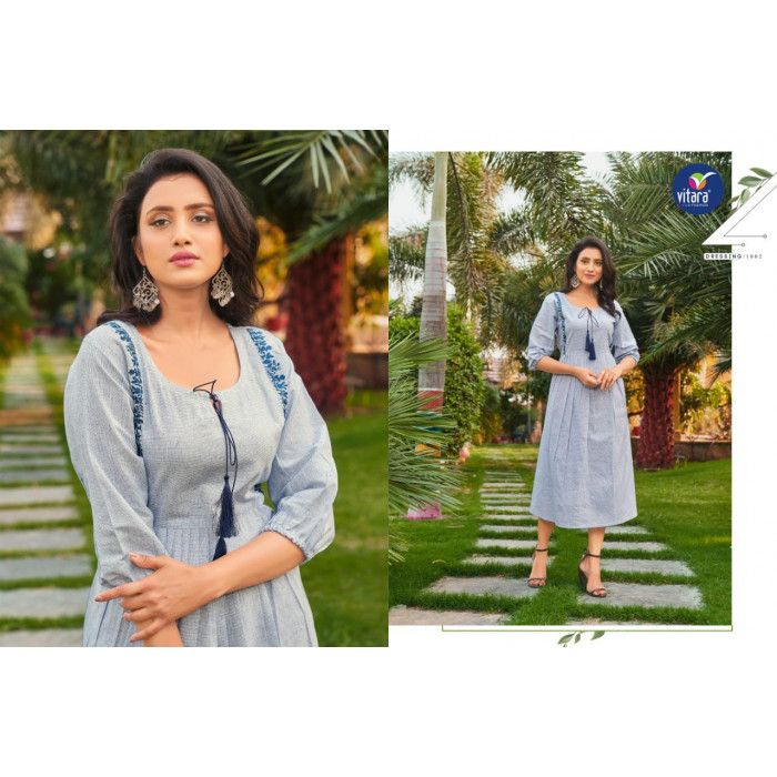 Vitara Eliza Vol 2 Pick And Pick Cotton Kurtis