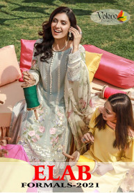 Volono Elab Formals 2021 Pure Cambric Salwar Suits