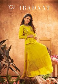Wanna Ibadaat Viscose Georgette Gowns Catalog