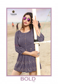 Yami Fashion Bold Vol 3 Rayon Fancy Western Tops