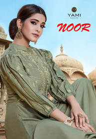 Yami Fashion Noor Silk With Embroidery Gowns