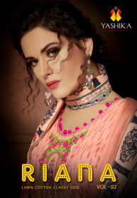 Yashika Riana Vol 2 Pure Lawn Cotton Dress material