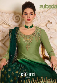 Zubeda Mishti Vol 2 Satin Georgette Salwar Suits