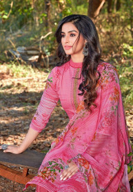 Zulfat Designer Zoya Jam Cotton Dress Materials