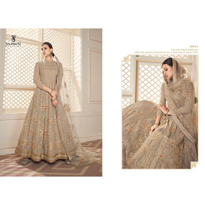 Sajawat Begum Vol 5 Faux Georgette Gowns
