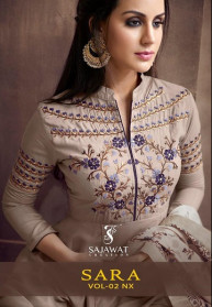 Sajawat Sara Nx Vol 2 Muslin Salwar Suits