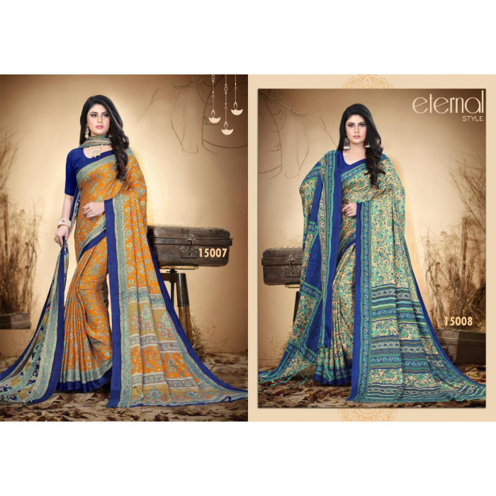 Silk Villa Pashmina Vol 15 Sarees With Shawl