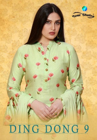 Your Choice Ding Dong Vol 9 Silk Salwar Suits