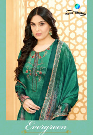 Your Choice Evergreen Silk Crepe Salwar Suits