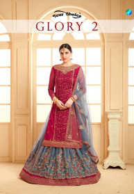 Your Choice Glory Vol 2 Georgette Salwar Suits
