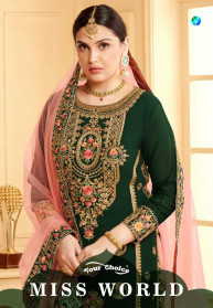 Your Choice Miss World Georgette Salwar Suits