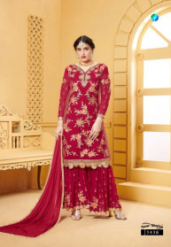 Your Choice Preet Faux Georgette Salwar Suits