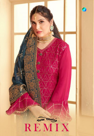Your Choice Remix Pure Chinon Salwar Suits