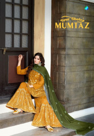 Your Choice Mumtaz Silk Chinon Salwar Suits