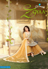 Your Choice Zoyaa Butterfly Net Salwar Suits